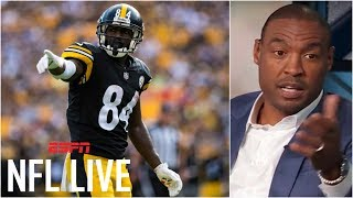 Reacting to Antonio Brown's behavior and comments | NFL Live | ESPN