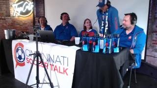 Cincinnati Soccer Talk LIVE from Top Cats!