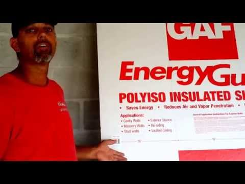Energy Saving Tips | GAF EnergyGuard™ Polyiso Insulated Sheathing | All Phase Building Concepts