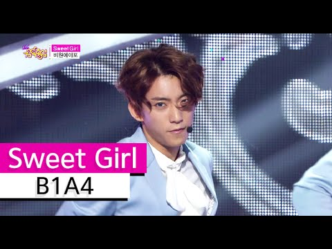 [HOT] B1A4 - Sweet Girl, 비원에이포 - 스윗 걸 Show Music core 20150822