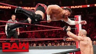 Cesaro vs. Samoa Joe – King of the Ring First-Round Match: Raw, Aug. 19, 2019