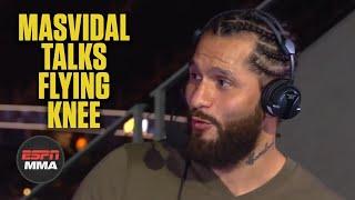 Jorge Masvidal talks flying knee KO of Ben Askren   UFC 239   ESPN MMA
