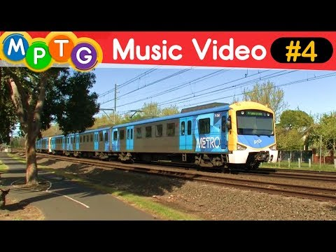 Melbourne's Metro and V/Line Trains (Music Video #4)