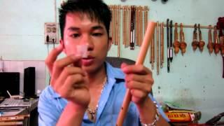Dán Màng Rung cho sáo trúc việt nam