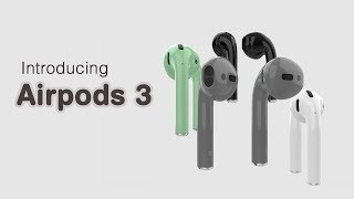 Introducing Airpods 3 - Apple [Concept AirPods 2020]