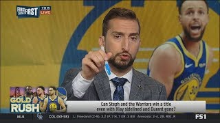 Nick Wright believes Steph Curry & Warriors need extra motivation to win a title with Klay sidelined
