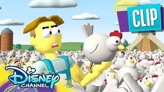 Video Game Simulation 🎮 | Big City Greens | Disney Channel