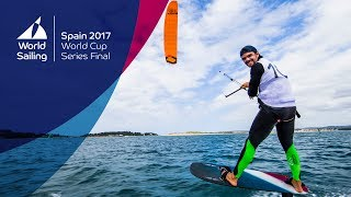 Formula Kite Medal Race Highlights from the World Cup Series Final in Santander 2017