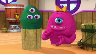 Monsters   Muddy Monster   Learn Math for Kids   Cartoons for Kids