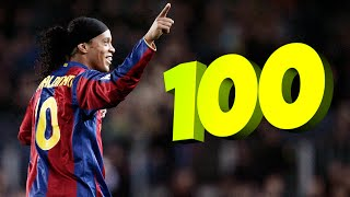 Top 100 Goals Scored by Legendary Football Players