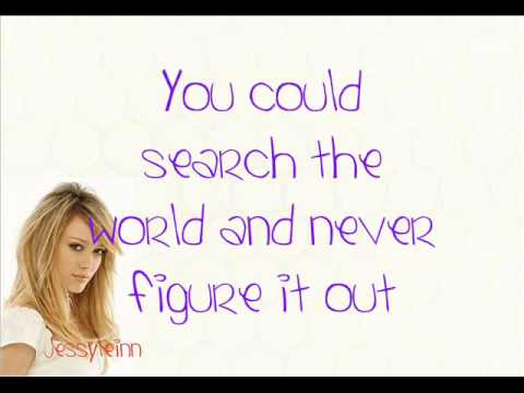 Baixar What Dreams Are Made Of - Hilary Duff - With Lyrics