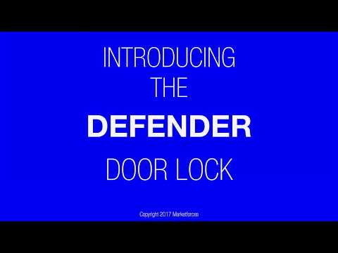 Watch the Defender Door Lock in Operation