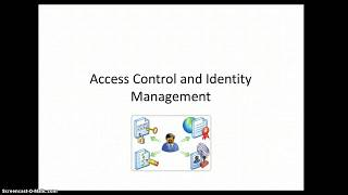 Identity and Access Management Overview