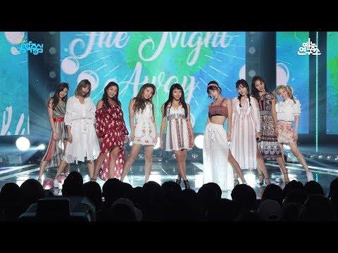 [예능연구소 직캠] 트와이스 댄스 더 나잇 어웨이 @쇼!음악중심_20180721 Dance The Night Away TWICE in 4K