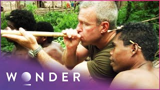 Joining A Jungle Tribe On The Hunt For Prey   Man Hunt S1 EP2   Wonder