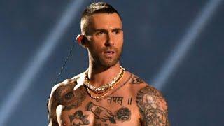 Super Bowl 2019: Shirtless Adam Levine Rocks Halftime Show Alongside Big Boi and Travis Scott