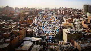 A project of peace, painted across 50 buildings | eL Seed