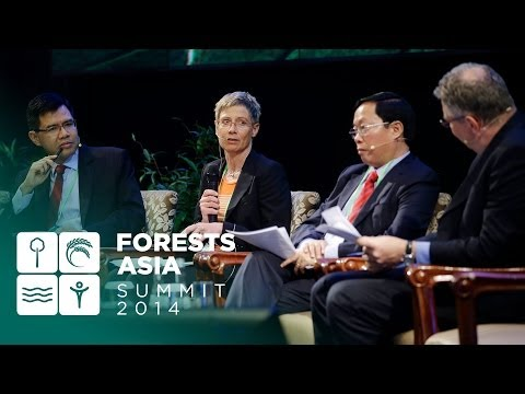 Forests Asia 2014 – Day 2 High-Level Panel Discussion, Investing in landscapes for Green Returns