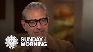 Actor and jazz musician Jeff Goldblum in full bloom