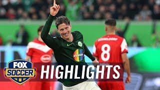 VfL Wolfsburg vs. Fortuna Dusseldorf | 2019 Bundesliga Highlights