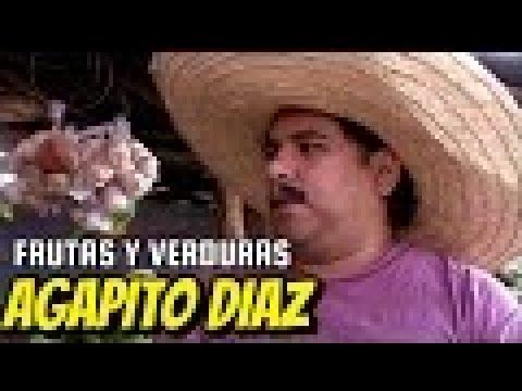 Agapito Diaz y la venta frutas y verduras / JR INN clásico