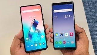 Asus 6Z (Zenfone 6) vs Samsung Galaxy Note 9 SpeedTest | Camera Test | TechTag