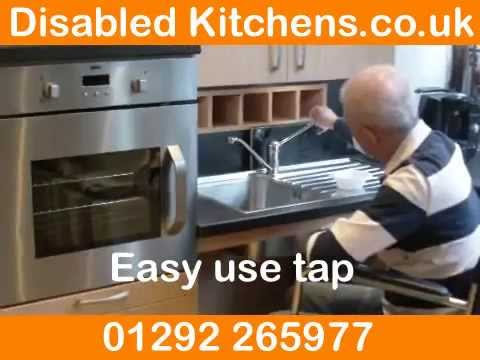 Disabled Kitchen Design and Kitchens For Disabled People