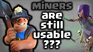 3 easy ways to do 3star with th10 mass miner/clash of clans 2018