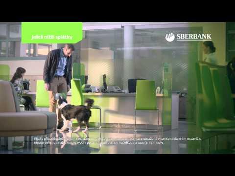 Sberbank CZ – reklamní spot – půjčky – srpen 2015
