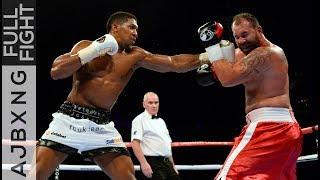 Full Fight | Anthony Joshua Vs Jason Gavern KO