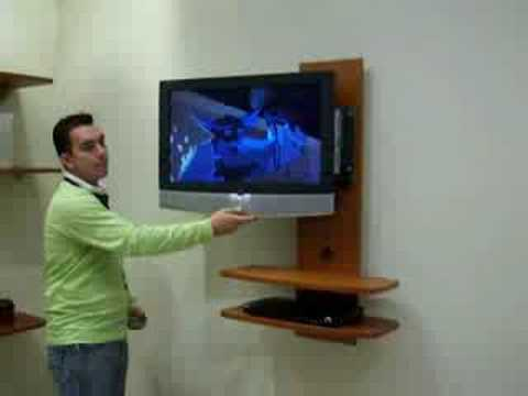 Muebles para tv rack 2 youtube - Muebles modernos para television ...