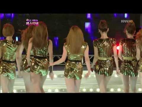 [111003] Nine Muses - Ladies @ KNN Super Model Contest