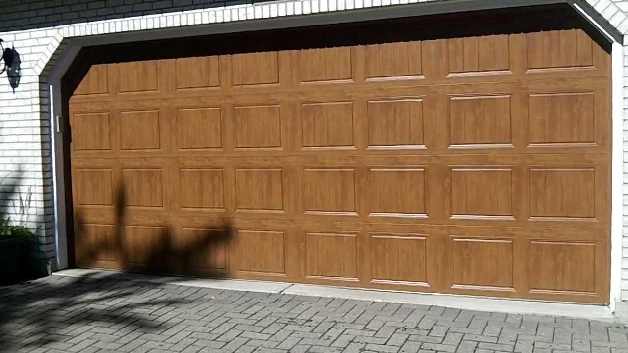 Clopay Gallery Garage Doors Ultra Grain Youtube