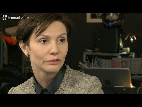 Олена Бондаренко залишила ефір Громадського після питання про доречність її посмішки