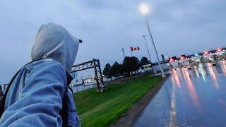 Canadá NO ME DEJÓ ENTRAR AL PAÍS 😕 Atrapado en la Frontera 🇨🇦
