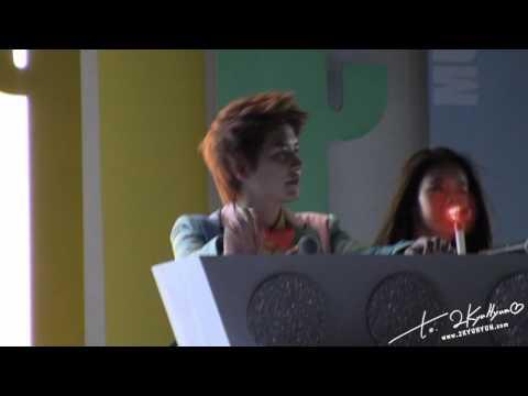 [Fancam HD] 120723 - MBC Ulsan Summer Festival - loving U 'MC KYU' (dance+singing) - 2KYUHYUN