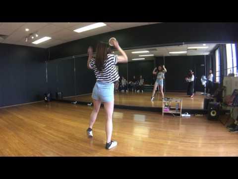 Hyolyn(효린) - Paradise Dance practice and Tutorial- Part 1