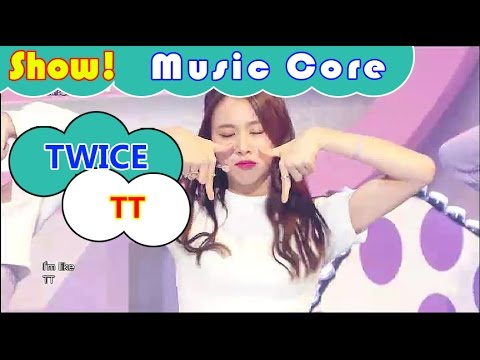 [Comeback Stage] TWICE - TT, 트와이스 - 티티 Show Music core 20161029