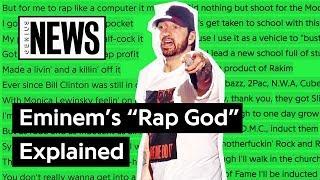"Looking Back At Eminem's ""Rap God""   Song Stories"