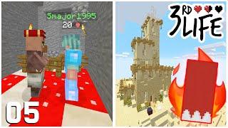 Alliances, Enemies & DEATH! - Minecraft 3rd Life SMP - Ep.5