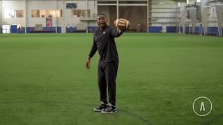 Cris Carter's 3 Windows for Catching the Football