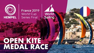 Open Kite Medal Race | Hempel World Cup Series Final Marseille 2019