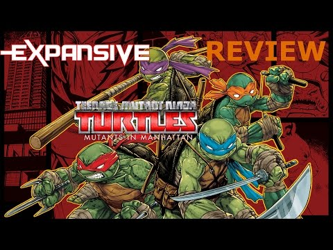 Teenage Mutant Ninja Turtles: Mutants in Manhattan Gameplay Review [PS4] 1080p - EXP