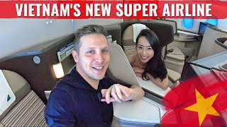 Review: BAMBOO AIRWAYS 787 - THE NEW VIETNAMESE AIRLINE!