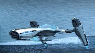 STAR TREK LIKE ION DRIVE AIRCRAFT