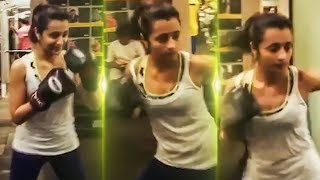 WOW! Trisha's Terrific Boxing Video!..