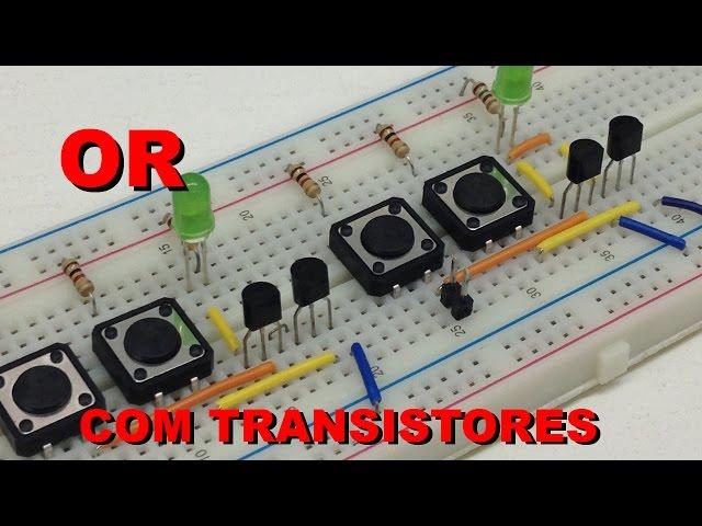 LÓGICA OR COM TRANSISTORES | Conheça Eletrônica! #024