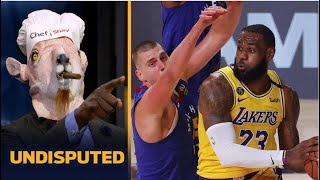 Shannon Sharpe CELEBRATE LeBron, AD dominate as Lakers blowout Nuggets 126-114 to lead series 1-0