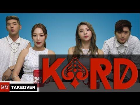 KARD Takes Over Fomo Daily [KOR SUB]