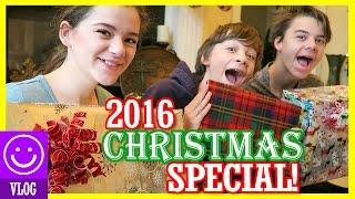 2016 CHRISTMAS SPECIAL! OPENING CHRISTMAS PRESENTS! | KITTIESMAMA